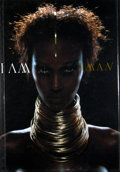 Books:Signed Editions, Iman. INSCRIBED. I am Iman. [New York]: [Rizzoli], [2001]. First edition. Inscribed. Quarto. Publisher's binding...