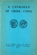 Books:First Editions, Gilbert Askew [editor]. A Catalogue of Greek Coins. London:B. A. Seaby, 1951. First edition. Octavo. Publisher's bi...