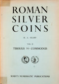 Books:First Editions, H. A. Seaby. Roman Silver Coins: Vol II. Part 1. Tiberius toDomitian. London: B. A. Seaby, 1954. First edition....