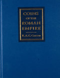 Books:First Editions, R. A. G. Carson. Coins of the Roman Empire. London:Routledge, [1990]. First edition. Octavo. Publisher's binding an...