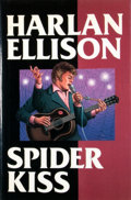 Books:Signed Editions, Harlan Ellison. SIGNED. Spider Kiss. [New York]: Armchair Detective Library, [1991]. First hardcover edition, first ...