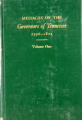 Books:First Editions, Robert H. White. Messages of the Governors of Tennessee1796-1821 and 1821-1835; Volumes One and Two. Nashville:...(Total: 2 Items)