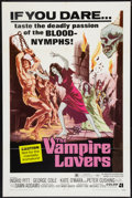 "Movie Posters:Horror, The Vampire Lovers (American International, 1970). One Sheet (27"" X 41""). Horror.. ..."