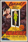 """Movie Posters:Science Fiction, The Unearthly (Republic, 1957). One Sheet (27"""" X 41""""). ScienceFiction.. ..."""