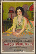"""Movie Posters:Drama, Wandering Husbands (Hodkinson Pictures, 1924). One Sheet (25.25"""" X 39.25""""). Drama.. ..."""