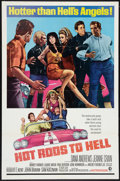 "Movie Posters:Exploitation, Hot Rods to Hell (MGM, 1967). One Sheet (27"" X 41""). Exploitation....."