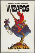 "Movie Posters:Animated, Wizards (20th Century Fox, 1977). One Sheet (27"" X 41"") Advance.Animated.. ..."