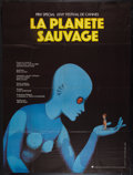 "Movie Posters:Animated, Fantastic Planet (Argos Films, 1973). French Grande (46"" X 61"").Animated.. ..."