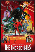"Movie Posters:Animated, The Incredibles (Buena Vista, 2004). One Sheet (27"" X 40"") SSAdvance Collage Style. Animated.. ..."
