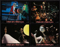 """Movie Posters:Fantasy, The Nightmare Before Christmas (Touchstone, 1993). French PrintedPhotos (7) (8.75"""" X 11.25""""). Fantasy.. ... (Total: 8 Items)"""