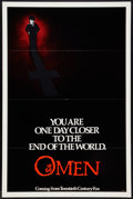 "Movie Posters:Horror, The Omen (20th Century Fox, 1976). One Sheet (27"" X 41"") Advance. Horror.. ..."