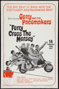 "Movie Posters:Rock and Roll, Ferry Cross the Mersey (United Artists, 1965). One Sheet (27"" X 41""). Rock and Roll.. ..."