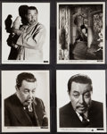 "Movie Posters:Mystery, Charlie Chan (Warner Oland) Lot (Fox, 1934-1937). Portrait Photos (4) (8"" X 10""). Mystery.. ... (Total: 4 Items)"