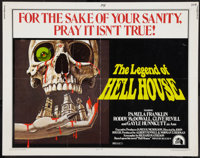 """The Legend Of Hell House (20th Century Fox, 1973). Half Sheet (22"""" X 28""""), Pressbook (13 Pages, 8.5"""" X 14..."""