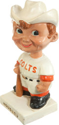 "Baseball Collectibles:Others, 1961-63 Houston Colt .45's ""White Base"" Nodder...."