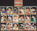 Baseball Collectibles:Others, 1961 Topps Baseball White Sox Signed Cards (18 signed, plus teamcard) and 1961 Spring Training Roster With Over 35 Signatures...
