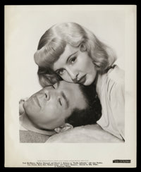"""Barbara Stanwyck and Fred MacMurray in """"Double Indemnity"""" by Bud Fraker (Paramount, 1944). Photos (2) (8""""..."""