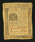 Colonial Notes:Pennsylvania, Pennsylvania July 20, 1775 20s Very Fine.. ...