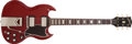 Musical Instruments:Electric Guitars, 1961 Gibson SG Les Paul Cherry Electric Guitar, #15632....