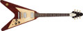 Musical Instruments:Electric Guitars, 1971 Gibson Flying V Medallion Mahogany Electric Guitar, #66....