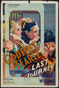 "Movie Posters:Crime, The Last Journey (Atlantic Pictures, 1936). One Sheet (27"" X 41""). Crime.. ..."