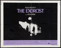 "Movie Posters:Horror, The Exorcist (Warner Brothers, 1974). Half Sheet (22"" X 28""). Horror.. ..."