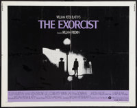 "The Exorcist (Warner Brothers, 1974). Half Sheet (22"" X 28""). Horror"