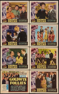 "The Goldwyn Follies (United Artists, 1938). Other Company Lobby Card Set of 8 (11"" X 14""). Musical. ... (Total..."