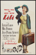 "Movie Posters:Musical, Lili (MGM, 1953). One Sheet (27"" X 41""). Musical.. ..."