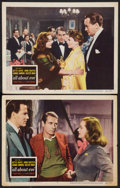 "Movie Posters:Academy Award Winners, All About Eve (20th Century Fox, 1950). Lobby Cards (2) (11"" X14""). Academy Award Winners.. ... (Total: 2 Items)"