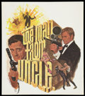 "Movie Posters:Action, The Man from U.N.C.L.E. (NBC, 1966). Special Television Poster (21""X 24""). Action.. ..."