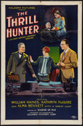 """Movie Posters:Adventure, The Thrill Hunter (Columbia, 1926). One Sheet (27"""" X 41"""") Style B.Adventure.. ..."""