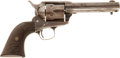Military & Patriotic:Indian Wars, Colt SAA Caliber .22 RF, #1781 with LOA from Noted Single ActionAuthority John A. Kopec....