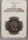 Early Half Dollars: , 1806/5 50C VG10 NGC. O-103a. NGC Census: (11/872). PCGS Population(7/174). Numismedia Wsl. Price for problem free NGC/PCG...