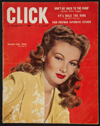 "Click Magazine (Triangle Publications, Dec., 1944). Magazine (74 Pages, 10.25"" X 13.25""). Miscellaneous"