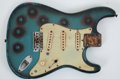 Musical Instruments:Electric Guitars, 1961 Fender Stratocaster Blue Electric Project Guitar Body, Serial# 61082...