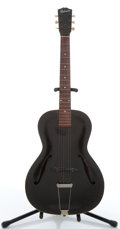 Musical Instruments:Acoustic Guitars, Vintage Gibson Black Archtop Acoustic Guitar #N/A....
