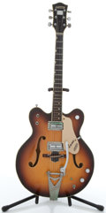Musical Instruments:Electric Guitars, 1971 Gretsch Viking Sunburst Semi-Hollow Electric Guitar #N/A....