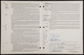 "Baseball Collectibles:Others, 1969 James ""Mudcat"" Grant Signed Player's Contract...."