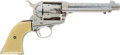 Military & Patriotic:Spanish American War, Engraved Colt SAA Revolver Caliber .38-40 #235224 Matching, Mfg. 1902...