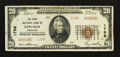 National Bank Notes:Nebraska, Lincoln, NE - $20 1929 Ty. 2 The First NB Ch. # 1798. ...