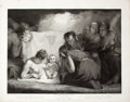 Antiques:Posters & Prints, Engraved Print from Boydell's Shakespeare Entitled, The Infant Shakspeare. Cheapside: J. & J. Boydel...