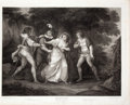 Antiques:Posters & Prints, Engraved Print from Boydell's Shakespeare Entitled, TwoGentleman of Verona. Cheapside: J. & J. Boyd...