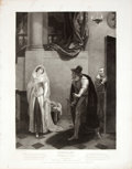 Antiques:Posters & Prints, Engraved Print from Boydell's Shakespeare Entitled,Merchant of Venice. Cheapside: J. & J. Boydell, ...