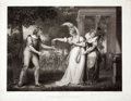 Antiques:Posters & Prints, Engraved Print from Boydell's Shakespeare Entitled, As You Like It. Cheapside: J. & J. Boydell, 1800...