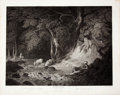 Books:Prints & Leaves, Engraved Print from Boydell's Shakespeare Entitled, AsYou Like It. Cheapside: J. & J. Boydell, 1800...