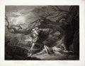 Antiques:Posters & Prints, Engraved Print from Boydell's Shakespeare Entitled, AsYou Like It. Cheapside: J. & J. Boydell, 1798...
