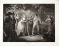 Antiques:Posters & Prints, Engraved Print from Boydell's Shakespeare Entitled, AsYou Like It. Cheapside: J. & J. Boydell, 1791...