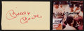 Baseball Collectibles:Others, Mickey Mantle Signed Cut Signatures Lot of 2....