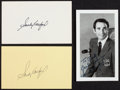 Baseball Collectibles:Others, Sandy Koufax Signed Memorabilia Lot of 3....